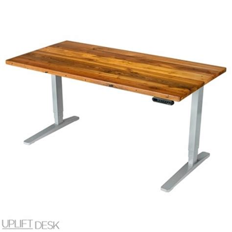 Stand Up Desk Wood by Shop Uplift Reclaimed Wood Stand Up Desks