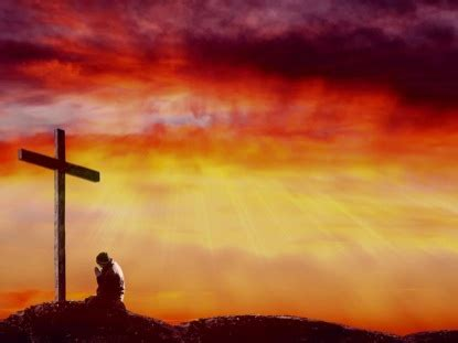 sunset at the cross | imagevine | worshiphouse media