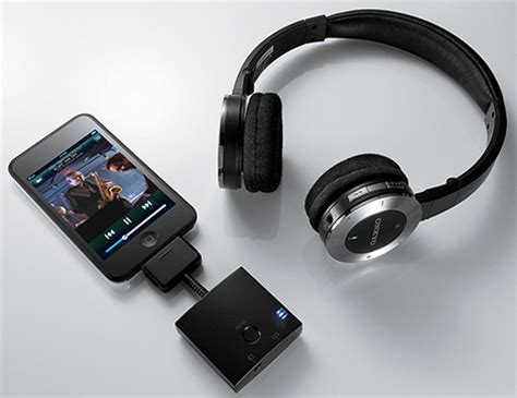 onkyo portable ipod wireless headphone