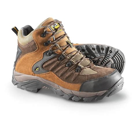 s workmaster 174 steel toe hiking boots brown 208663