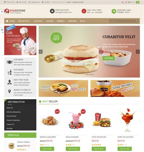 live theme editor opencart nulled 17 best images about 17 of the best food wine