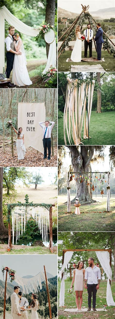 easy diy country wedding decorations 25 chic and easy rustic wedding arch ideas for diy brides