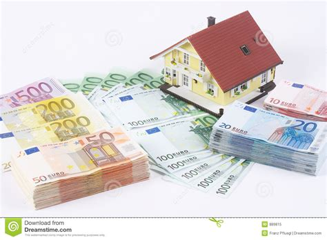 Haus Zeichnung by Banknotes With House Stock Image Image Of Capital Home