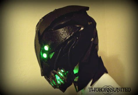 Light Up Mask by The Gurath Light Up Moving Jaw Mask By