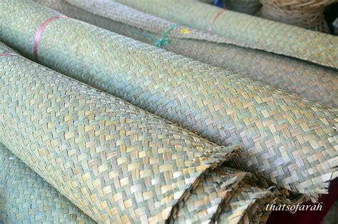 weaving mat mat weaving in terengganu