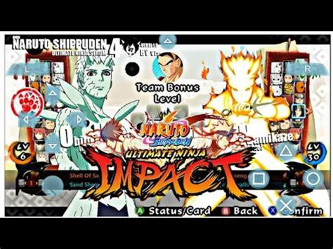 mod game naruto ultimate ninja impact naruto shippuden ultimate ninja impact storm 4 mod