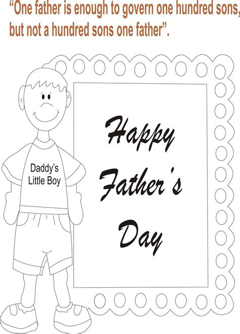 fathers day 2025 s day coloring page for 5