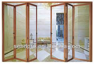 folding patio doors prices with glazed glass view