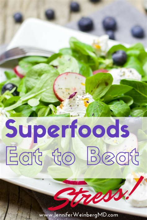 Tips To Beat Stress With Food by Eat To Beat Stress Try These Plant Based Superfoods For