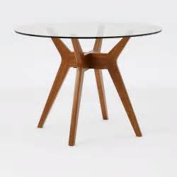 jensen round glass dining table west elm 5 best glass kitchen table fit into a corner perfectly