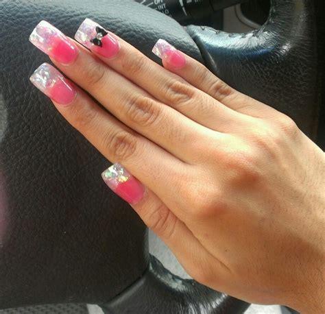red nail beds ultra pink nail bed acrylic nails pinterest