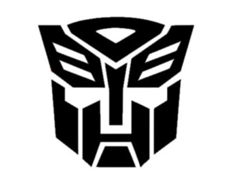 Design Your Own Wall Sticker transformers logo etsy