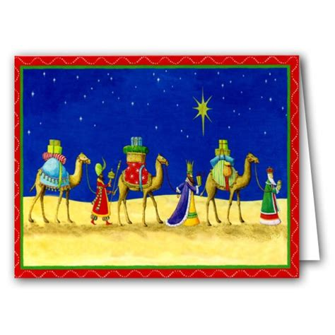 three wise men boxed christmas cards paperstyle