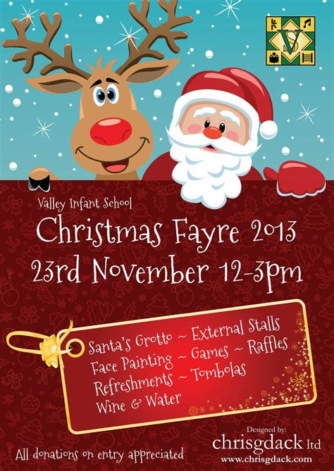 10 best images about christmas fayre posters on pinterest