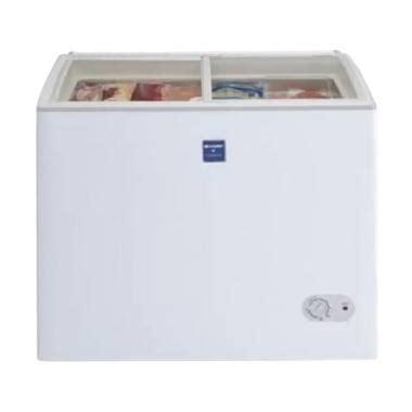 jual sharp frw210 chest freezer harga kualitas