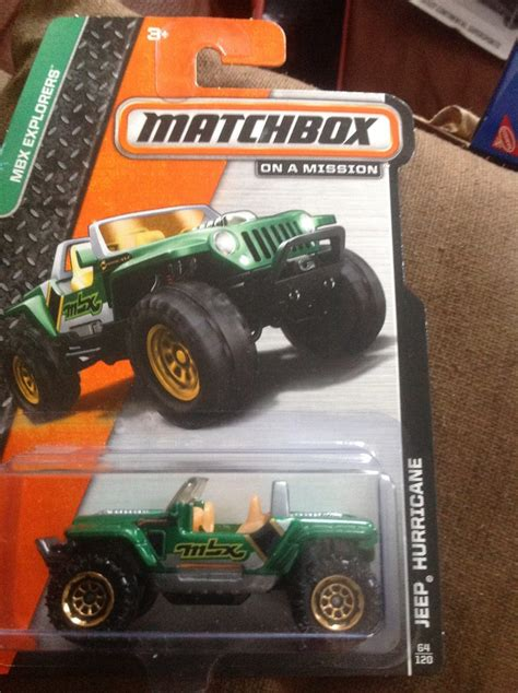 Matchbox Jeep Hurricane matchbox jeep hurricane verde 45 00 en mercado libre
