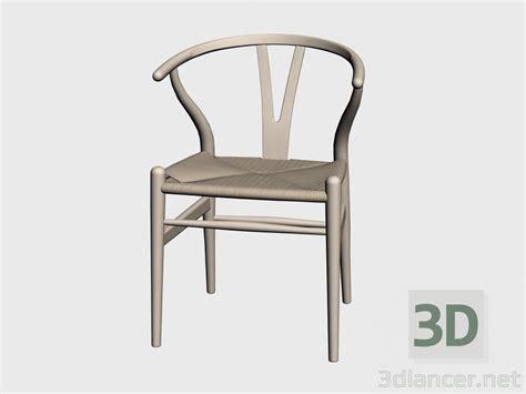 stuhl 3d 3d modell stuhl ch24 vom hersteller carl hansen chairs