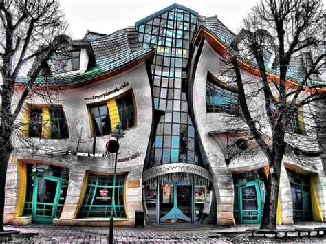 crooked house in sopot poland is like a children s book s p a c e krzywy domek in sopot poland
