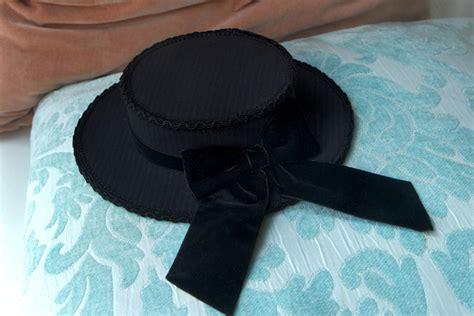 mini boater hat velvet dusk mini boater hat by imperialfiddlesticks on