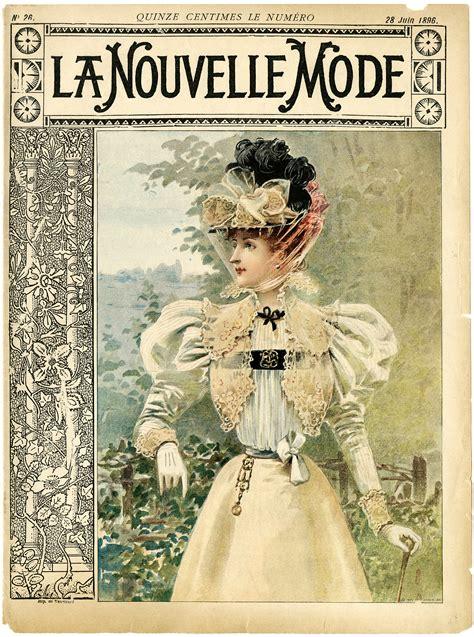 design magazine vintage free vintage image la nouvelle mode cover old design