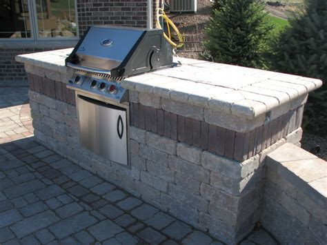 built in outdoor pit built in grill bar firetable pit and other kits