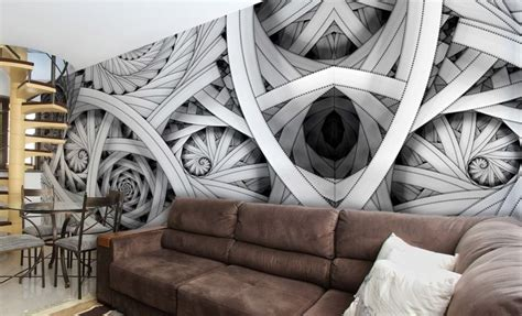 wallpaper abstract murals black white abstract composition giant wall murals