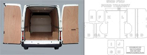 ply lining templates wheel base ford transit ply lining kit with side