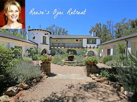 reese witherspoon house reese witherspoon selling libbey ranch in ojai hooked on houses