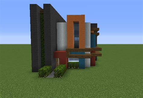 Minecraft Modern House Floor Plans Small Modern House 3 Grabcraft Your Number One Source