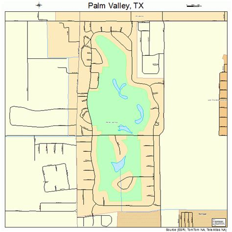 valley texas map palm valley texas map 4854798