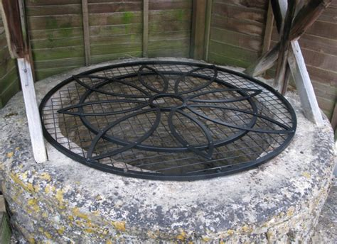 Water Well Decorative Coverings by Wrought Iron Well Covers Ironart Of Bath