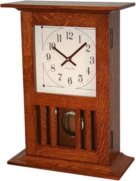 stickley mantel clock plans woodworking projects plans