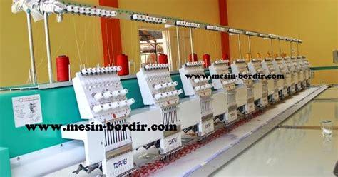 Jual Mesin Bordir Manual Termurah Sekaskus agen mesin bordir bekas paling murah berkualitas id mesin