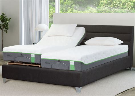 tempur genoa adjustable bedstead midfurn furniture superstore