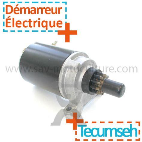 Tondeuse Autoportée Electrique 2071 by D 233 Marreur Electrique Pour Tecumseh