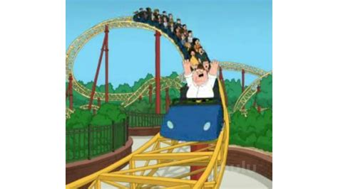 theme park uncopylocked survive a roller coaster with family guy roblox