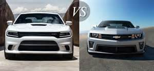 Dodge Charger Vs Camaro Msrp 2015 Hellcat Autos Post