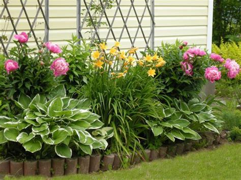 flowers for backyard 33 beautiful flower beds adding bright centerpieces to