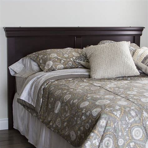 mahogany headboard queen south shore vintage full queen panel headboard in mahogany