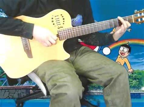 tutorial fingerstyle doraemon doraemon guitar funnydog tv