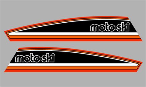 futura sky 1982 moto ski futura 300 side stripes doodecals