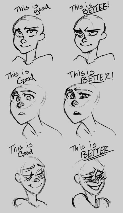 adding expression how to draw eyebrows step by step facial animation 101 animation mentor blog