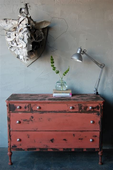 How To Age A Dresser by Before And After Basics Aging Furniture With Milk Paint