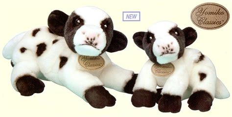 Lu Yomiko plush stuffed animal cows and bulls