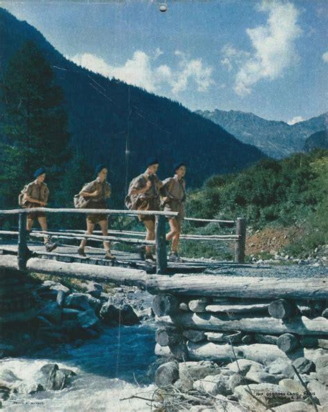 Calendrier De 1962 Calendrier Scouts De De 1962 Latoilescoute