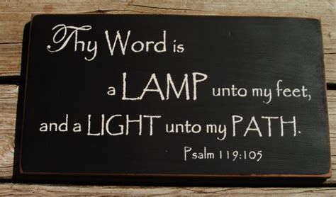Thy Word Is A L Unto by Thy Word Is A L Unto And A Light By