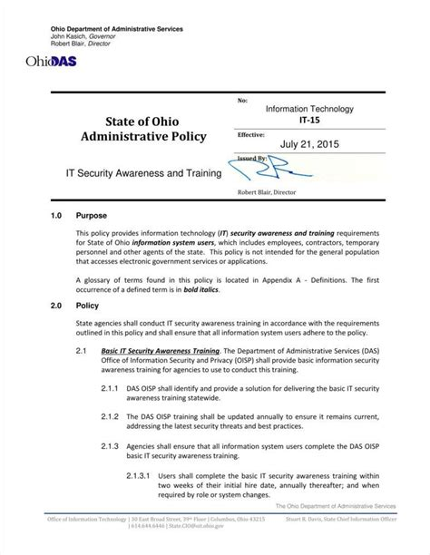 infosec policy template information security policy document template unique