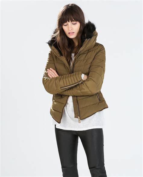 zara anorak with detachable fur collar and non detachable inner fashion thrashin
