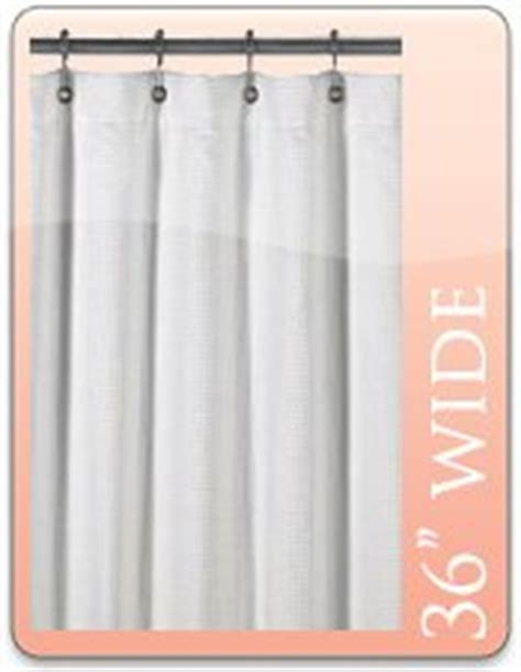 shower curtain 36 x 72 36 quot w x 72 quot l regency shower curtain white