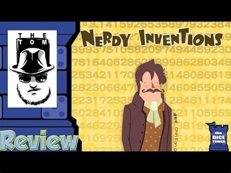Nerdy Invention By Mayday Boardgame nerdy inventions review with tom vasel